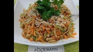 Салат из моркови, яблока и огурца: рецепт от Foodman.club