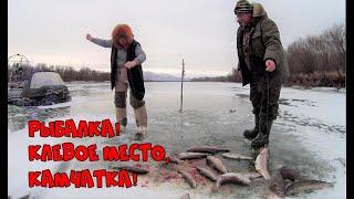 Рыбалка Клевое место Камчатка