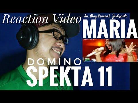 MARIA  DOMINO Jessie J  Spekta 11 Top 5 Indonesian Idol 2018  Reaction