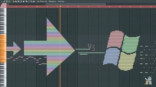 Rainbow vs Windows XP - MIDI Art