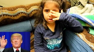5 Year Old Muslim Girl CRIES When TRUMP Becomes President!!