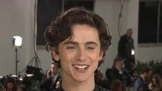 Watch Timothee Chalamet  Totally Fail at 'A Star Is Born' Sing-Along