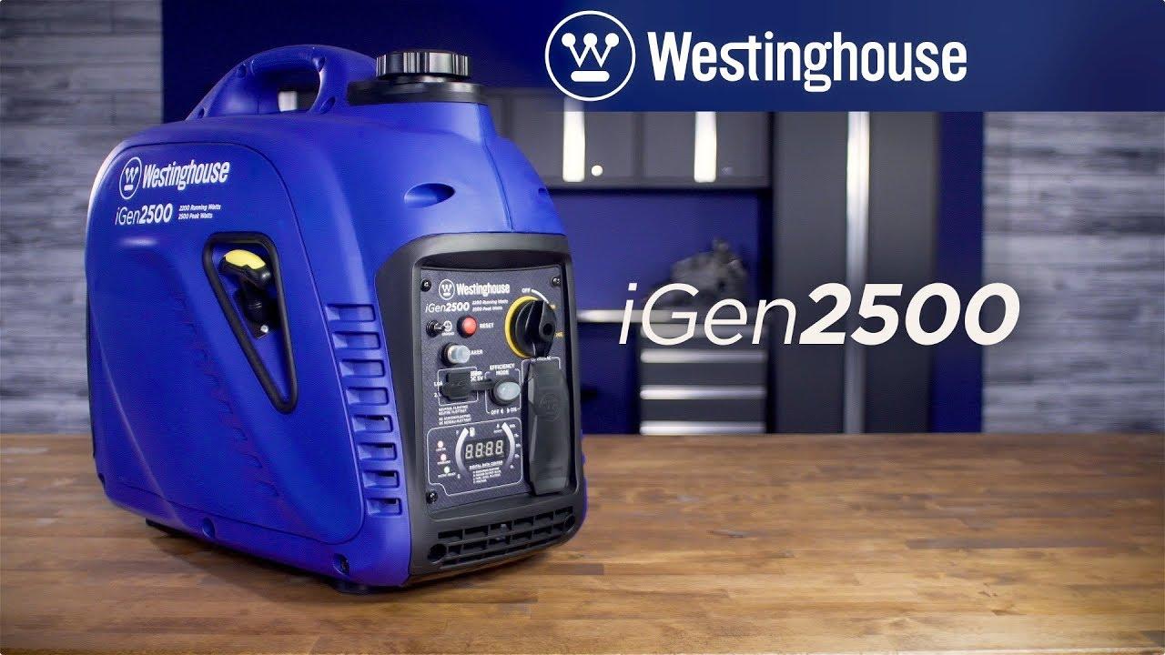 westinghouse inverter generator