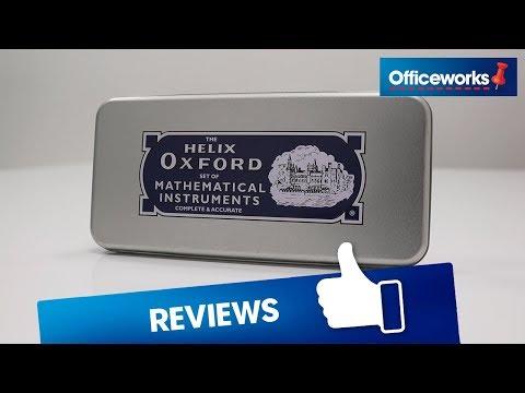 Helix Oxford Advanced 8 Piece Maths Set Overview