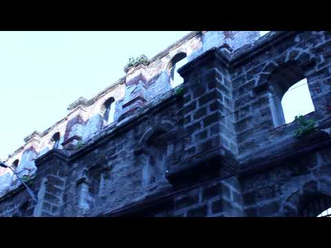 Intramuros - Old town of Manila Philippines