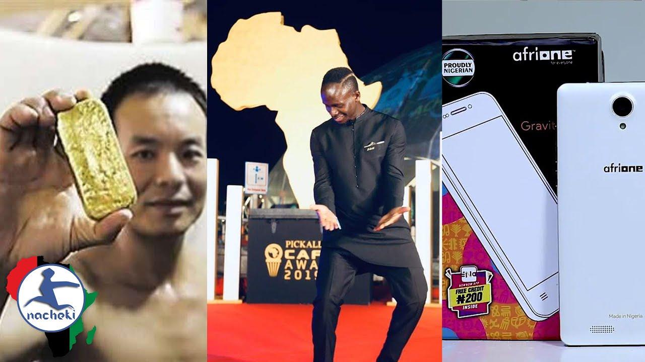 Congo Seize Illegal Gold from Chinese, Sadio Mane Funds Hospital, Nigeria Starts Making Smartphones