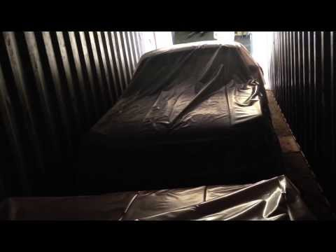 EASY IMPORT AUTO - Securisation en container -  transport import voiture americiane, mustang
