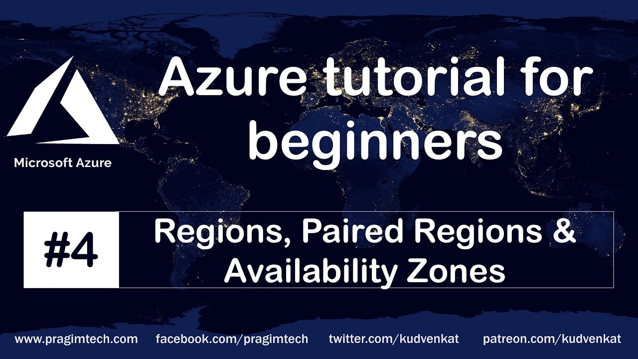 Azure Regions | Paired Regions | Availability Zones