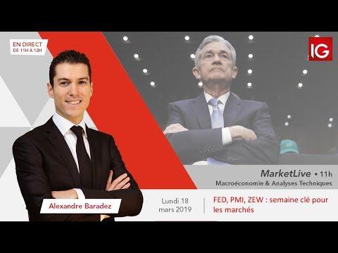 #MarketLive 11h - Lundi 18 mars 2019