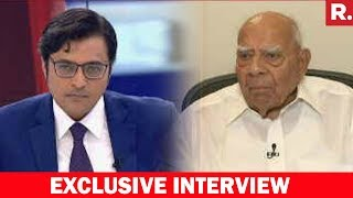 Ram Jethamalani Speaks To Arnab Goswami Over Rejection Of Impeachment Motion