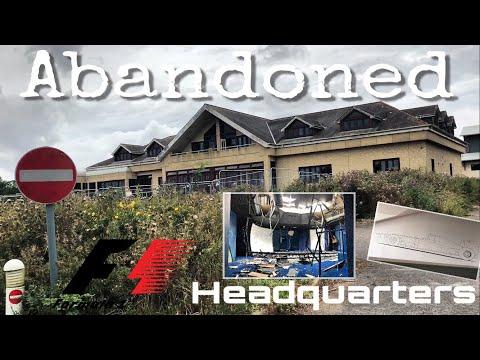 ABANDONED Formula 1 Headquarters | Urban Exploration 2017