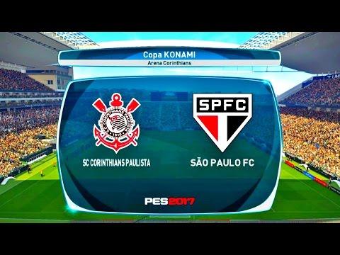 CORINTHIANS X SÃO PAULO ( 1080p / 60FPS ) ARENA CORINTHIANS - PES 17