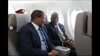 RAIS MAGUFULI NA KIKWETE WALIVYOONDOKA KWENDA SOUTH AFRIKA KWA 'MADIBA'