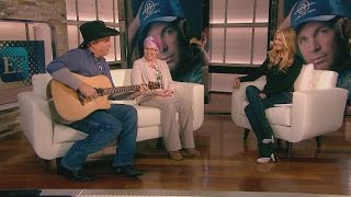 Garth Brooks Talks Comeback on ET: