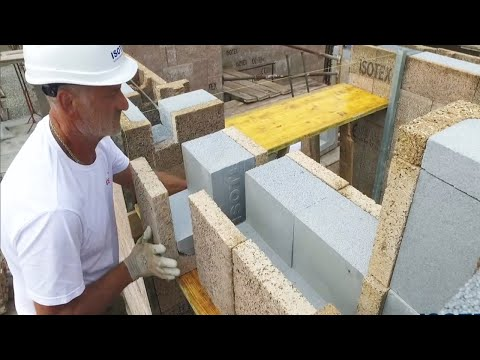 This Modern House Construction Method is Very INCREDIBLE for Construction Workers 100x Faster