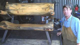 How-to Do-it-yourself Log Furniture By Mitchell Dillman