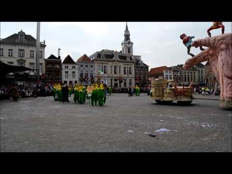 Optocht Krabbegat Bergen op Zoom 2014 vastenavend