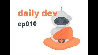 ep010 / daily dev / логгирование
