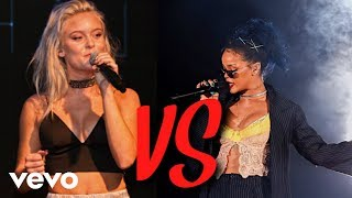 Zara Larsson VS Rihanna - Vocal Battle (Their best vocals)