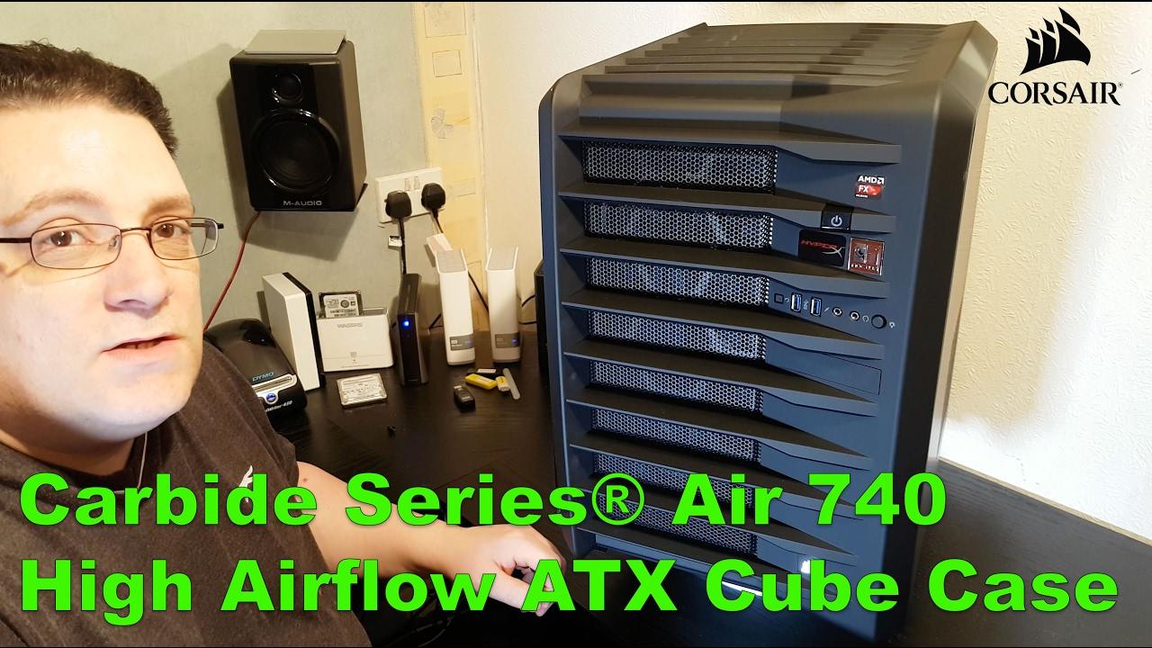 buy popular 31445 b6f1c Carbide Series® Air 740 High Airflow ATX Cube Case