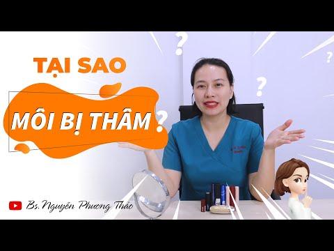 Thâm môi - Cách trị thâm và lựa chọn son môi