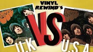 The Beatles Rubber Soul - UK vs. USA vinyl review