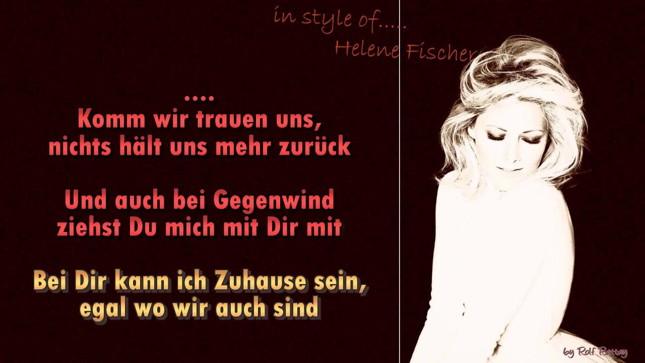 Helene Fischer Nur Mit Dir Instrumental Youtube