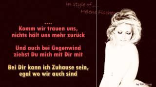 Helene Fischer   - Nur mit dir  - Instrumental