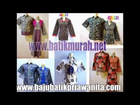 Model Baju Batik Couple Model Terbaru