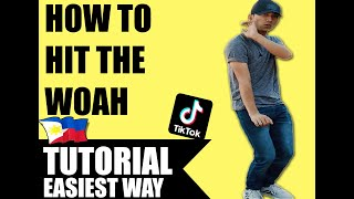 HOW TO HIT TΗE WOAH LIKE A PRO IN TIKTOK | Dance Tutorial