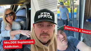 "Download Mrs.DDE  Supplement addiction ...Damon shares ""JDM SPACE"" merch drop... Dave RAIDS NEW HOUSE!"