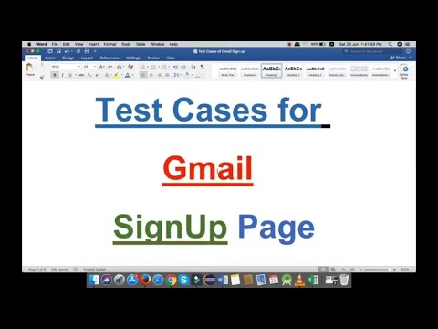 All Testing Stuff: Test Cases for Gmail SignUp