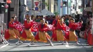 笑楽-eraku- 第15回安濃津よさこい 2012年10月 7日日 2日目最終日 津駅...