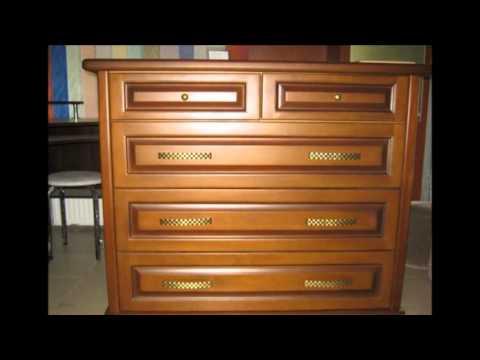 Деревянная мебель - комоды