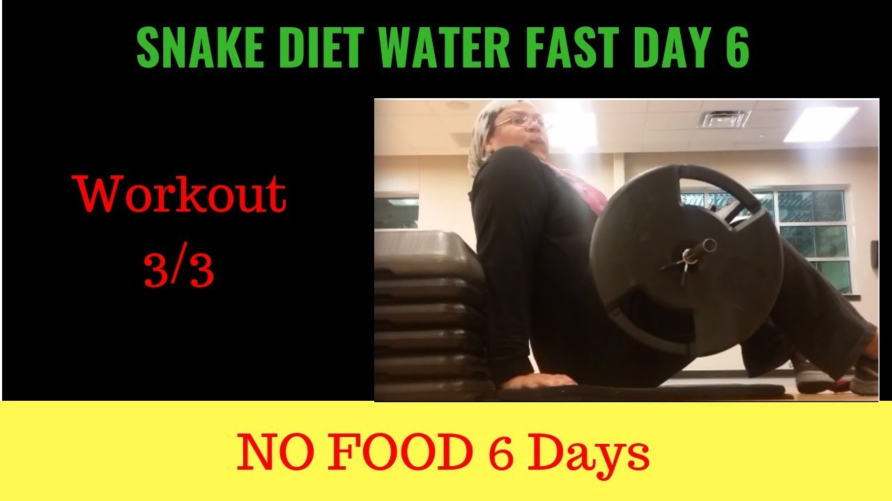 Madisontwp org, How to workout on a water fast