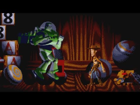 Toy Story (Genesis Game) Bosses - No Damage