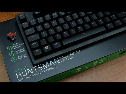 Razer Huntsman TE review (Light Strike Libra / DMET MJ3.0)