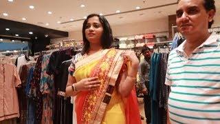 Saas aur Mummy Ko Diya Mother's Day Special Surprise - Gold & Saree Shopping Vlog