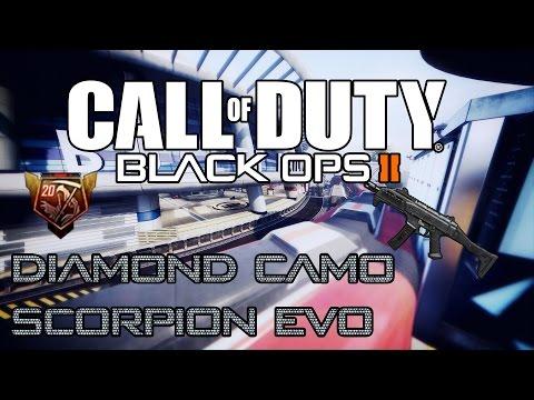 Diamond Scorpion Black Ops 2 Scorpion Evo Black Ops ii