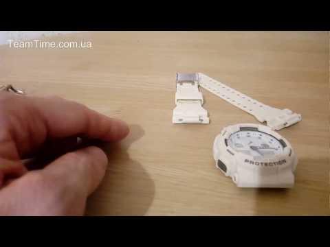 Замена ремешка Casio G-Shock GA 100