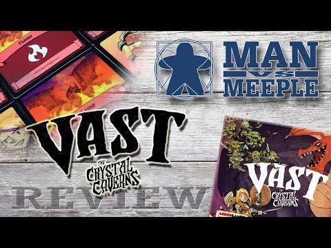 Vast (Leder Games) Review by Man Vs Meeple