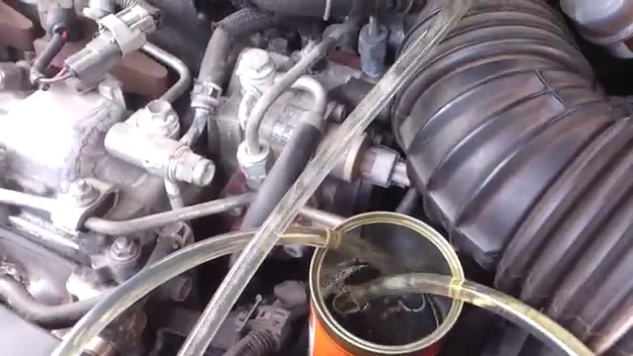 Cat 6 Wiring Youtube Free Diagram For You Toyota Avensis Pdf T25 2 D Cleaning The Injectors Using Tec Cable