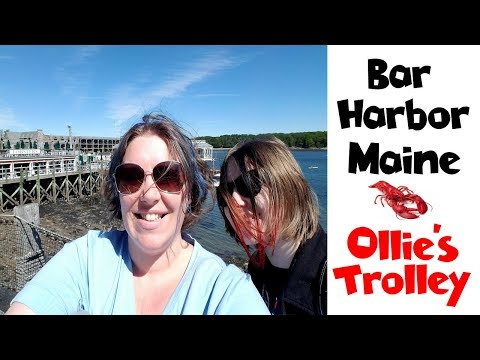 Bar Harbor Maine | Ollie's Trolley | Acadia National Park • NYC Land & Sea Cruise Vlog Day 12 [ep25]