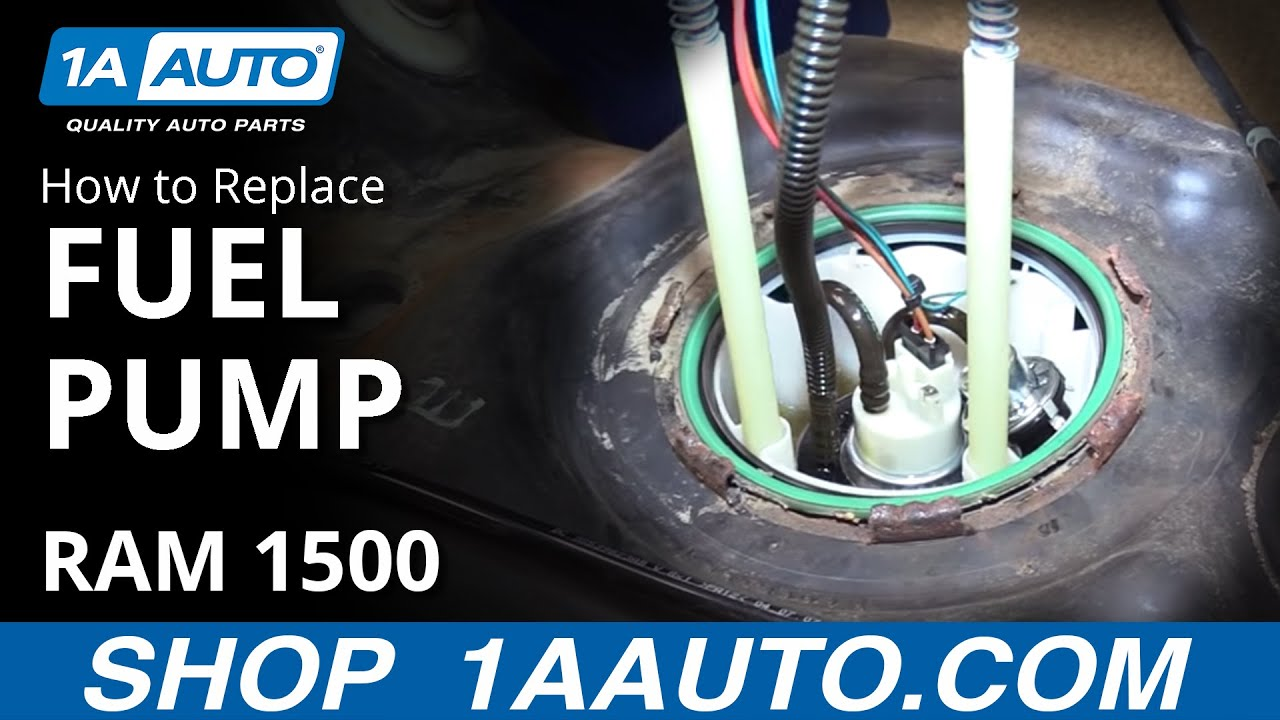 how to replace fuel pump 26 gal gas tank 08 dodge ram 1500 [ 1280 x 720 Pixel ]