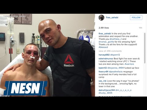 Robbie Lawler, Rory MacDonald Show Respect After UFC 189 Brawl
