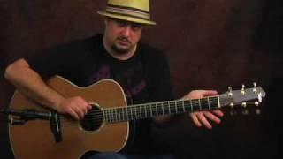 Learn Acoustic Guitar lesson embellish open cowboy chords