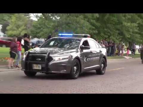 Amboy depot day parade 2017