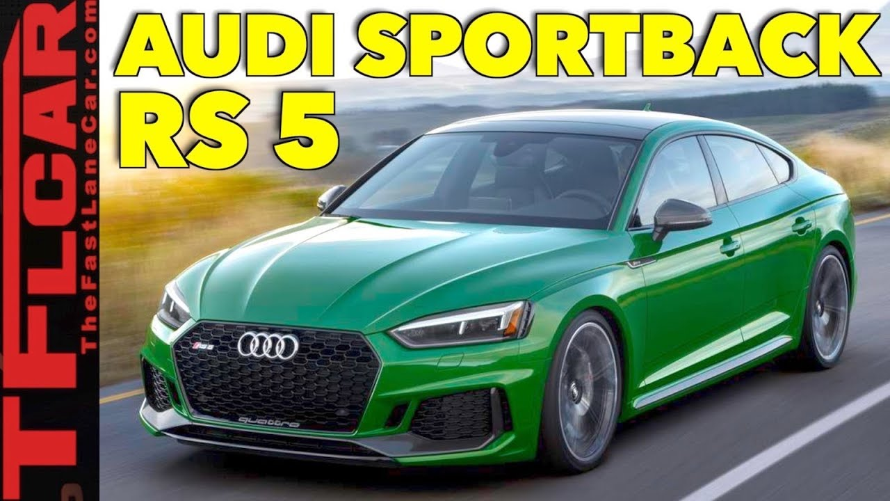 2019 Audi RS 5 Sportback first drive review