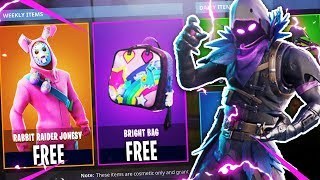 "Fortnite adding MORE FREE SKINS! *NEW* ""BRIGHT BAG"" SECRET! (Fortnite Battle Royale FREE SKINS)"