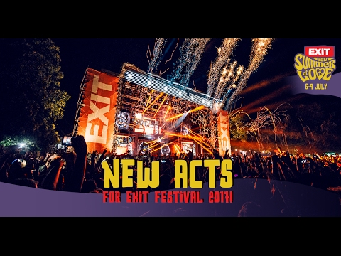 New Acts for EXIT Festival 2017!